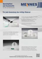 Special glasses and plastics for the lighting industry
